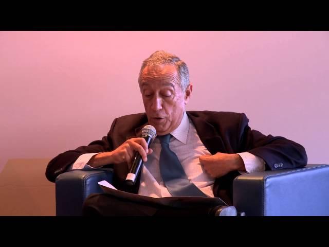 vídeo: Marcelo Rebelo de Sousa, Ciclo de Debates 'Portugal e a União Europeia'