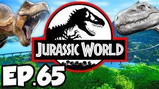 Jurassic World: Evolution Ep.65 - MASSIVE PARK EXPANSION FOR NEW DINOSAURS!! (Gameplay / Let's Play)