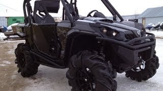 5. 2013 Commander X 1000 Carbon Black Showroom Mud Build!