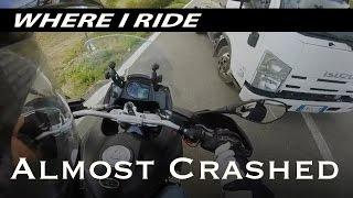 10. WIR: ALMOST CRASHED!!! - Moto Guzzi Stelvio 1200 NTX