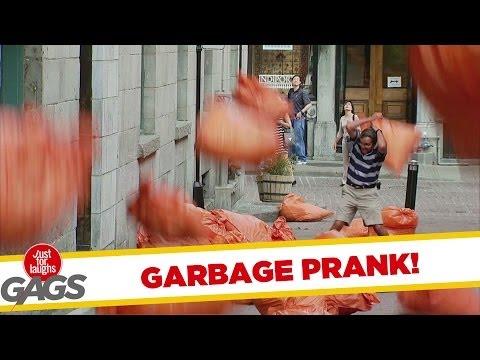 EXTREME GARBAGE PRANK TO THE MAX! - Youtube