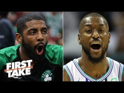 Video: Will Kyrie Irving or Kemba Walker have a bigger impact next season? | First Take