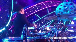 Echa Soemantri - Kevin & Via Vallen - Sayang Indonesian Idol 2018 #ESdrumcam