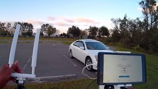 THIS IS MY FIRST FLIGHT TEST OF THE ARGTEK NEW CAR KIT. THIS IS NOT A RANGE BOOSTER, IT'S AN ANTENNA...