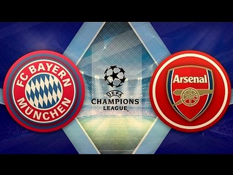 Bayern Munich 5-1 Arsenal. UEFA Champions League