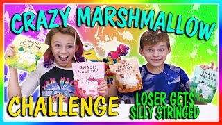 """Kayla and Tyler are challenged to see if they can figure out the flavor of several different marshmallows. If they get it right, they win a prize, if they get it wrong, they get silly string all over them. Too funny! Subscribe https://www.youtube.com/c/wearethedavises?sub_confirmation=1Our mailing address:We Are The Davises28241 Crown Valley Pkwy Suite F #613Laguna Niguel , CA 92677""""We Are The Davises"""" is an entertaining family vlog channel based in Florida. Our daily videos show our real life moments, challenges, funny skits, and traveling adventures. Shawn is an outstanding father and husband that enjoys coaching children in team sports like football and wrestling. Connie is very creative with our channel as she makes everything in our lives as fun and entertaining as possible while still molding our kids into the amazing people they are today. Kayla is currently 12 years old. Her passion is competitive cheer leading and loves all animals from fluffy puppies to the little frogs. Tyler is 11 years old and is obsessed with playing video games and team sports such as football. We are excited to share our fun filled journey!Check out our gaming channel We Are The Davises Gaming if you love gaming videos.https://www.youtube.com/channel/UCShsPtvK0WzxjljpN4rhVzgPlease be sure to check out all of our social media platforms that we have listed below for you.Twitter:  https://twitter.com/wearethedavisesFacebook:  https://www.facebook.com/wearethedavises/Instagram: https://www.instagram.com/wearethedavises/Google+: https://plus.google.com/u/0/+WeAreTheDavises2016/postsSnapchat:  https://www.snapchat.com/add/wearethedavisesMusical.ly:  wearethedavisesDo you like certain types of videos? Come and check out the playlists that we have setup to make it easier for you to watch what you like.Here is a playlist of all our daily videos. https://www.youtube.com/playlist?list=PL1SgveIsSpIqtjNq-QnGHSHxv410nkJfyThis playlist was put together specifically for all you Kayla fans.https://ww"""