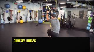 TRX Lower Body Exercises