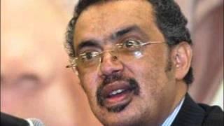 Ethiopian Regime's Foreign Affairs Minister Teodros Adhanom
