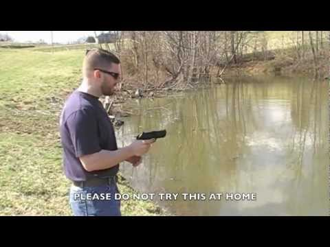 Fishing With A Beretta PX4 Storm Pistol