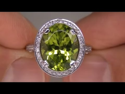 Desperate Housewife Sells Her Precious Peridot Ring