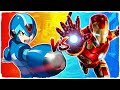 Iron Man Vs Megaman Marvel Vs Capcom Infinite