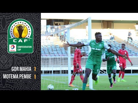 Gor Mahia vs Motema Pembe 1-1 | Caf Confederation Cup | Goals & Highlights (27.10.2019)