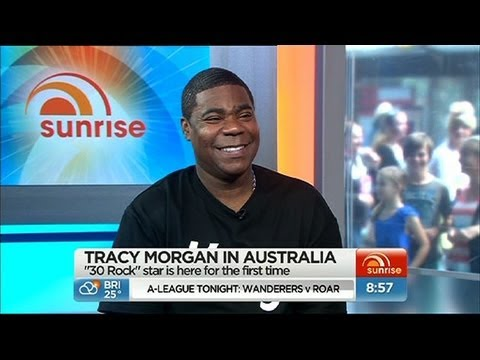 Tracy Morgan in Australia!