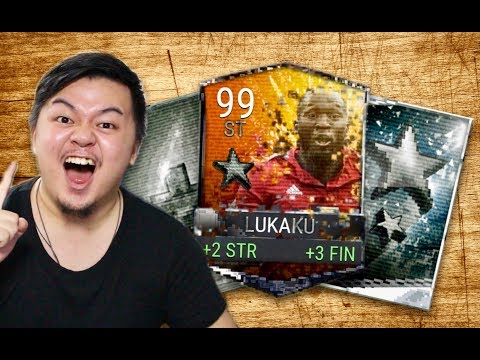 4 FAME TOKENS IN A PACK!! RETRO STAR BUNDLE OPENING!! LUKAKU FTW!! FIFA MOBILE