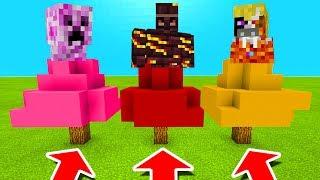 Video Minecraft PE : DO NOT CHOOSE THE WRONG TREE! (Friendly Creeper, Fire Golem & Elemental King) MP3, 3GP, MP4, WEBM, AVI, FLV Januari 2019