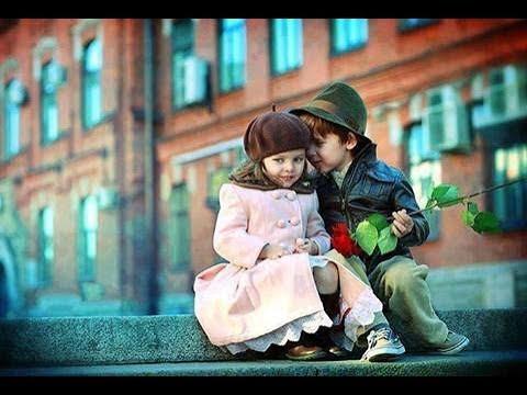 Cute kids love