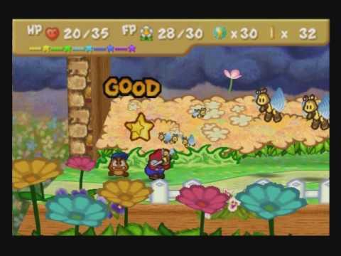 Paper Mario Walkthrough 100 43 Dark Days In Flower Fields By