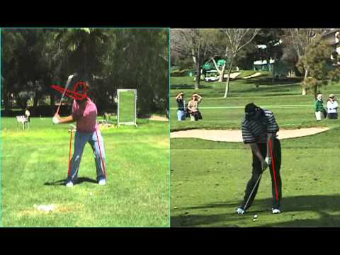 GOLF LESSONS – EXAMPLE ANALYSIS FULL SWING