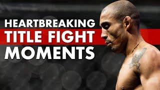 Video 10 Most Heartbreaking Moments In Title Fights MP3, 3GP, MP4, WEBM, AVI, FLV Juli 2019