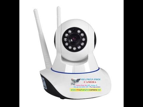 Giới thiệu sản phẩm camera ip wifi chất lượng cao ip9506
