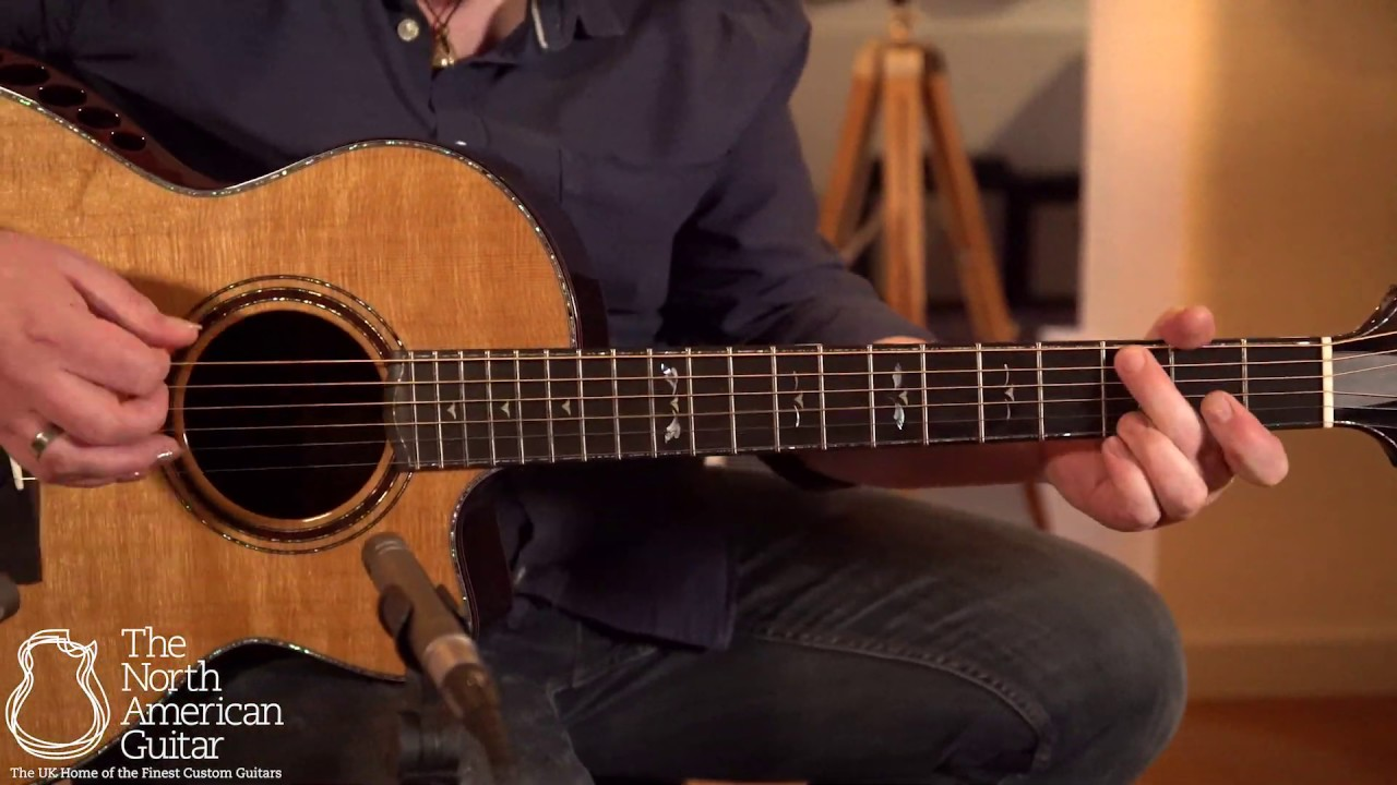 Ryan Nightingale Grand Soloist Acoustic Guitar Played By Ben Smith (Part One)