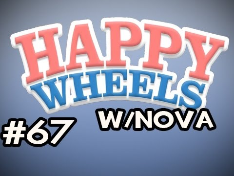 Happy Wheels w/Nova Ep.67 - Gonna Be A Rope Swing MASTAH Video