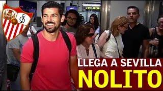 Nolito ya está en Sevilla y aseguró a su llegada que está muy contento y que espera ganar los máximos títulos posibles en el...