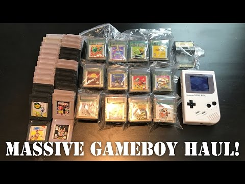 Gameboy Quest - Episode #4 - Huge Package from TriggerWarningGaming!