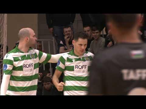 UEFA Futsal Champions League. Tyumen (RUS) vs Sporting (POR) - 3:1. Highlights