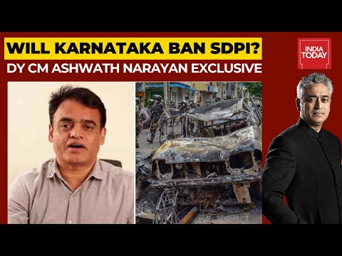 Bengaluru Riots: Will Karnataka Govt Ban SDPI?; Deputy CM, Ashwath Narayan Speaks Out