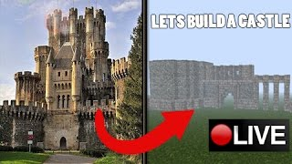 Minecraft: Medieval Castle Build - LIVE #Jeracraft