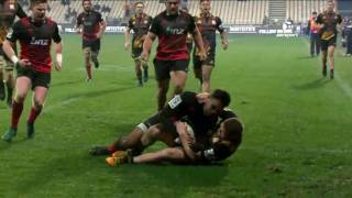 Crusaders v Chiefs Super Rugby Semi-final Video Highlights 2017