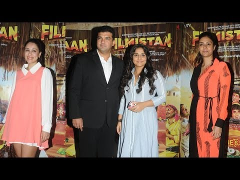 Vidya Balan, Siddharth Roy Kapur, Tabbu & Others At Screening Of Film Filmistaan