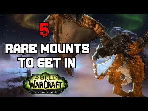 5 Incredibly Annoying Mounts to Get in World of Warcraft (видео)
