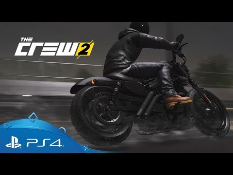Trailer sur la Harley-Davidson Iron 883 de The Crew 2
