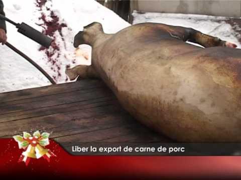 Liber la export de carne de porc