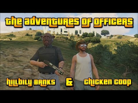 The Adventures of Officers HillbillyBANKS and ChickenCoop | Ep. 1 Strip Club Masterbater