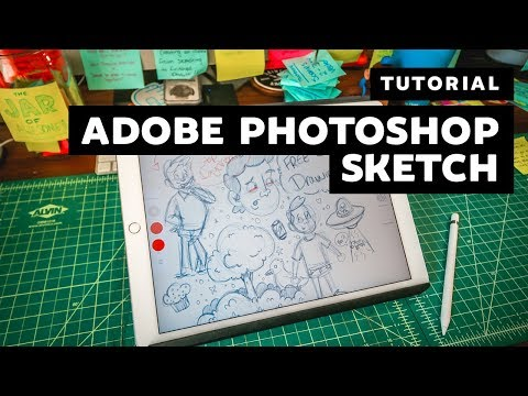 Tutorial | How To Create In Adobe Photoshop Sketch