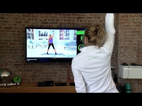 Celebrity Trainers to the Stars Team up With Microsoft Xbox (видео)