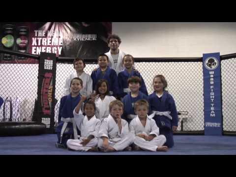 Wand Fight Team Kids Brazilian JiuJitsu Belt Test April 2010