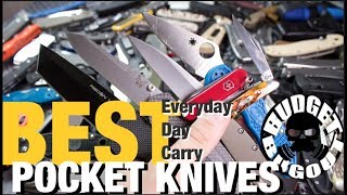 Can there be only be one best when it comes to everyday carry pocket knives? [Check out my pocket knife collection w/links ...