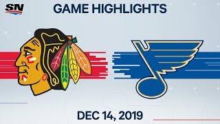 NHL Highlights   Blackhawks vs Blues – Dec. 14, 2019 by Sportsnet Canada
