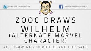 ♦ Zooc Draws - Wilhelm (Alternate Marvel character)