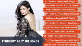 image of Best & Latest Bollywood Songs | February 2017 | Top New Songs Jukebox