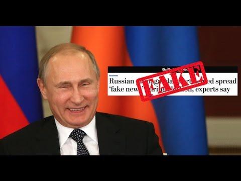 FAKE NEWS TAKEDOWN: Russia Creating a Western Media Watchdog Exposing American Main Stream Media!!!