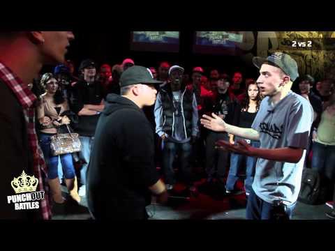 Sensei & Riemiks vs Froze &  Lerr PunchOutBattles (видео)
