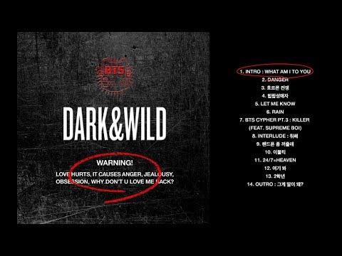 BTS 1er Album DARK & WILD CD PHOTOBOOK Kpop Musique Coréenne