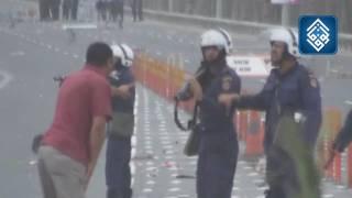 حادثة إطلاق عن قرب في أحتجاجات البحرين،يوم 13 مارس 2011م،بأوامر قوات الأمن Bahrain clashes Bahrain protests Manama protests...