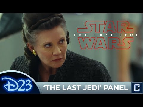 """""""Star Wars: The Last Jedi"""" Panel and Footage Review - D23 Expo 2017"""
