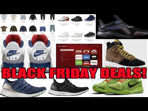 2016 BEST BLACK FRIDAY SNEAKER / CLOTHING DEALS & MORE!